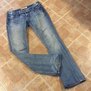 BKE Sierra boot cut jeans size women's 29/35